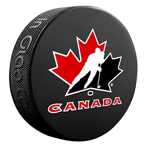 Team Canada Officially Licensed Hockey Puck