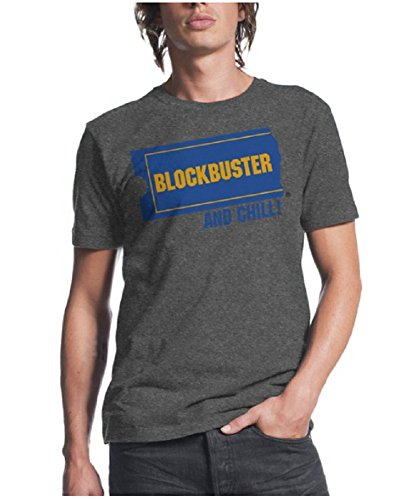 blockbuster-and-chill-mens-charcoal-heather-t-shirt-m