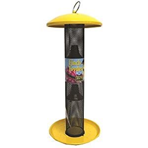 Perky-Pet Yellow Straight Sided Finch Feeder