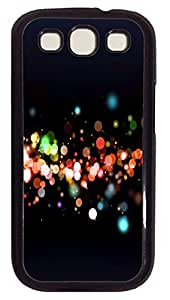 Samsung Note S3 CaseCool Sparkly Rounds PC Custom Samsung Note 2 Case Cover Black