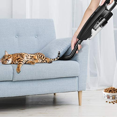 Handheld Vacuum Cordless, CHERYLON Portable Vacuum with 150W High Power and 8000Pa, Mini Car/Home Vacuum Cleaner Powered by way of Lithium Ion Cordless Hand Vacuum