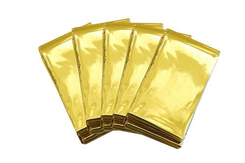 Somine Mantas de Emergencia(Paquete de 5) Tamaño Grande:210 X160cm, diseñado con hasta un 90% de retención de Calor 3