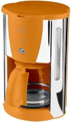 Russell Hobbs 14422 – 56 – Cafetera eléctrica Deco 1,8 L, 20 tazas – acero inoxidable Naranja: Amazon.es: Hogar