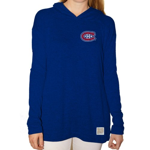 (Original Retro Brand NHL Montreal Canadiens Women's Pullover Hoodie, Medium,)