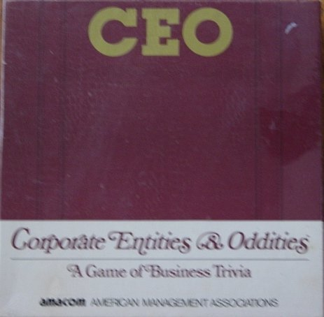 CEO Corporate Entities & Oddities A Game of Business Trivia by AMACON (Business Trivia)