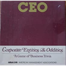 CEO Corporate Entities & Oddities A Game of Business Trivia by AMACON
