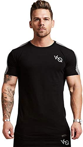 トレーニングウェア 半袖Tシャツ メンズ スポーツウェア フィットネスウェア 吸汗速乾 ストレッチ ボディビル