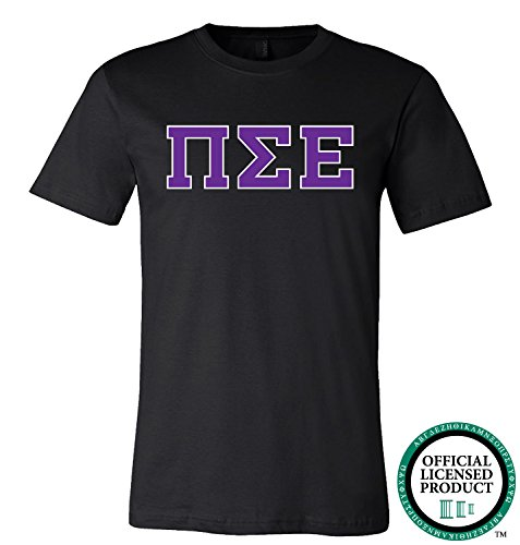 PI SIGMA EPSILON | Purple Letters - Licensed Unisex T-shirt