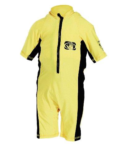 Body Glove Shorty - Body Glove Pro 2 Lycra Childs Springsuit (Yellow/Black, Small)