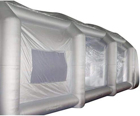 4 Tente Standard De Peinture De Cabine Gonflable De Voiture De Jet De Voiture De Tissu D Oxford Entierement Fermee Et Fenetre De Base Amazon Fr Cuisine Maison