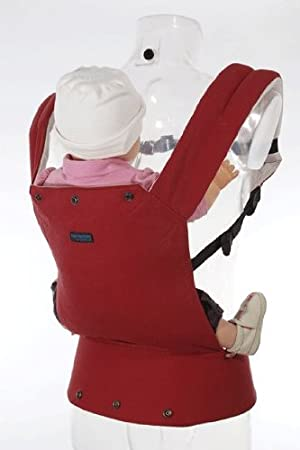 1ff152463ac Patapum Baby Carrier Red Version 3  Amazon.co.uk  Baby