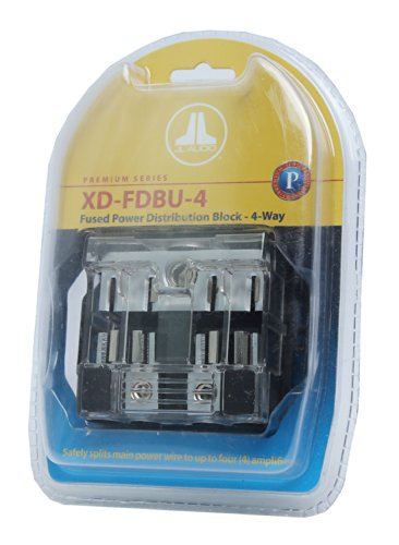 JL Audio XD-FDBU-4 MAXI Premium Series Car Audio Distribution Block