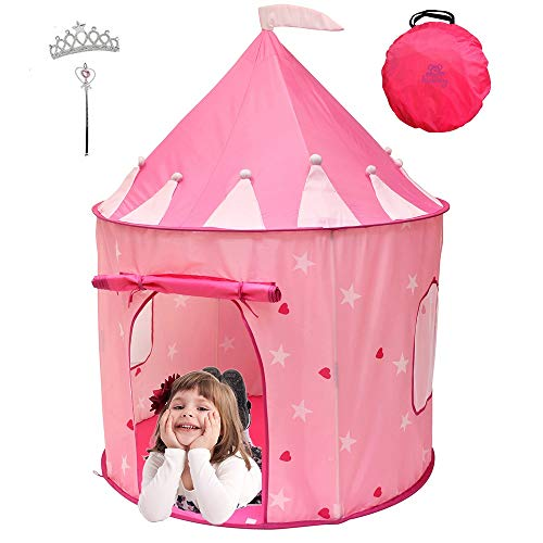 Kiddey Princess Castle Play Tent (Pink) Now $14.99 (Was $30)