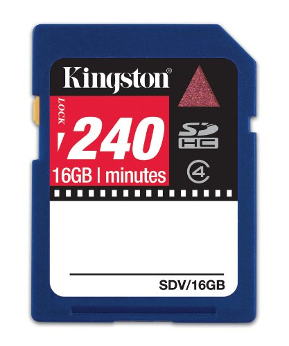 Kingston Technology 16GB SDHC Video Memoria Flash - Tarjeta ...