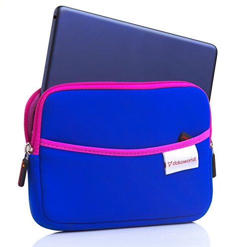 Neoprene iPad Mini Sleeve Pouch Case  Protective Travel Carr