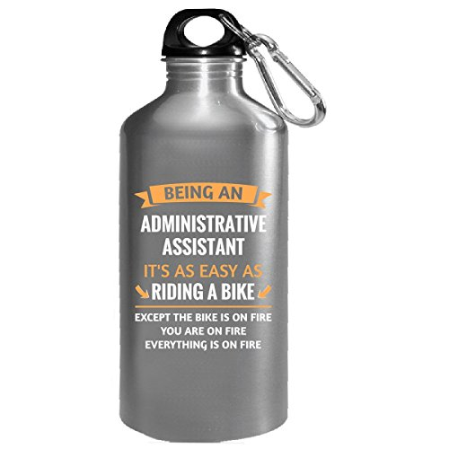 Funny Administrative Assistant Design Gift - Water Bottle