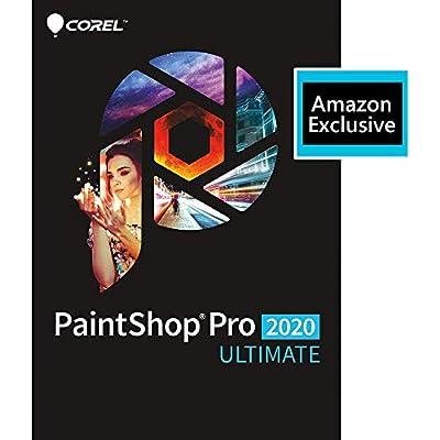 Corel Paintshop Pro & Ultimate 2020 - Photo Editing and Graphic Design Software