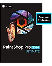 $49 » Corel | PaintShop Pro 2020 Ultimate | Photo Editing and Graphic Design | Amazon Exclusive Includes Free ParticleShop Plugin and 5-Brush Starter Pack Valued at $39 [PC Download]