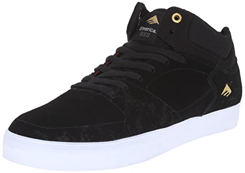Emerica The Brandon Westgate, Scarpe da Skateboard Uomo Black/white