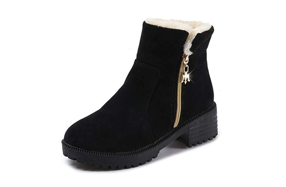excellent.c Casual Cotton Shoes Womens Low-Cut Snow Boots Warm Boots Outdoor Shoes