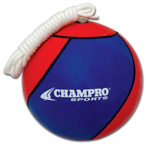 Champro Tetherball (Royal/Scarlet, Official) by CHAMPRO (Image #1)