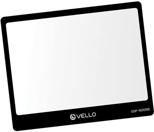 4 Pack Vello Glass LCD Screen Protector for Nikon D5300