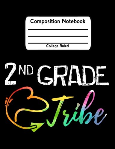 2nd Grade Tribe: Back To School Notebook College