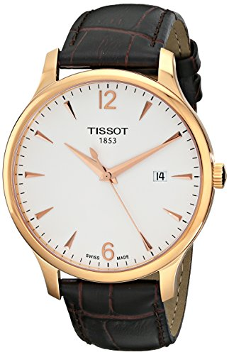 tissot-mens-t0636103603700-analog-quartz-brown-leather-strap-silver-dial-watch