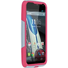 OtterBox Commuter Series Case for Motorola Moto X - Does NOT Fit 2nd Generation - Retail Packaging - Gray/Pink (Discontinued by Manufacturer)