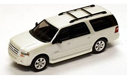 Ford Expedition El Limited Metallic White  Model Car Ready