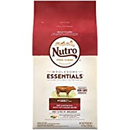 NUTRO WHOLESOME ESSENTIALS Adult Dry Dog Food Beef & Brown Rice Recipe With Ancient Grains, 4.5 lb. Bag