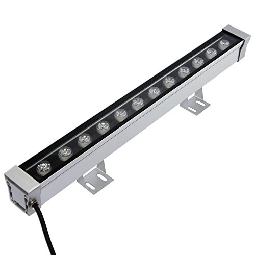 RSN LED Wall Washer 12W Linear Bar Light 3000K Warm White Color Stage Lighting Aluminum Alloy IP65 Waterproof