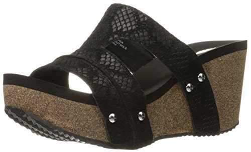 Volatile Women's Mount Wedge Sandal Black free shipping 2014 unisex discount original free shipping manchester great sale real for sale iQyMyztXg