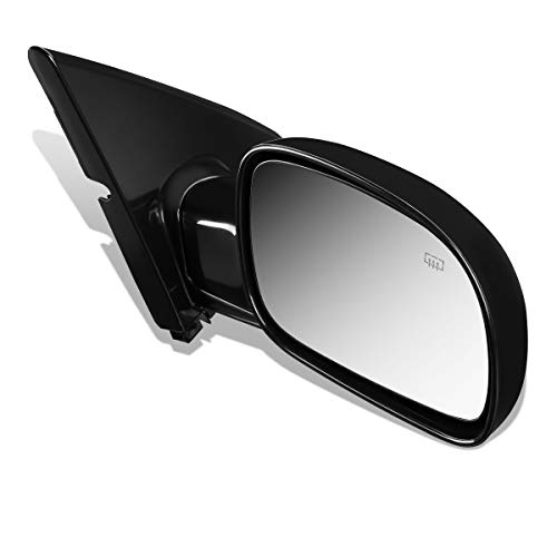 (DNA Motoring OEM-MR-CH1321141 Factory Style Powered+Heated Right Side View Door Mirror)