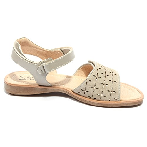 Kids Sandalo Nero Bimba Shoes B1840 Giardini Beige Scarpa Rwnq7U4