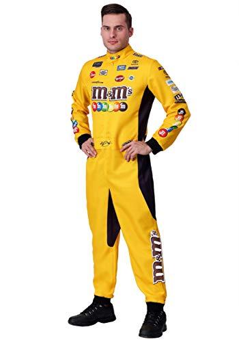 NASCAR Kyle Busch Uniform Costume Large Yellow ()