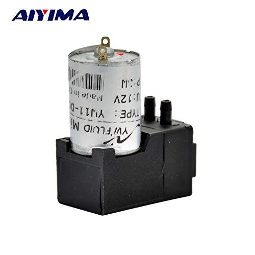 Pumps, Parts & Accessories ZRF DC 12V Vacuum Pump 180mL/min 10M Motor Diaphragm Pump Water Oil Liquid ink Gas Sampling Negative Pressure Suction (180 Ml Ink)