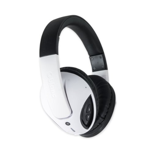 Oblanc OG-AUD23043 Bluetooth V2.1+EDR Headphone with Built-in Microphone, White