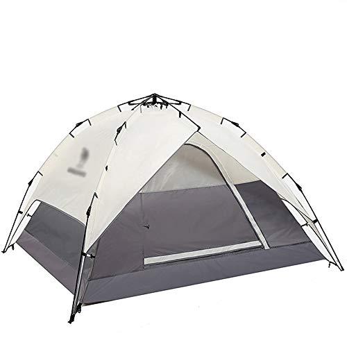 モナリザとして小屋屋外テント、屋外3-4人テント自動完全厚い防水キャンプ屋外テント (色 : J j)