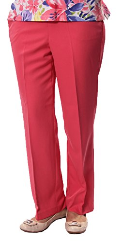 Proportioned Medium Pant in Watermelon By Alfred Dunner (18)
