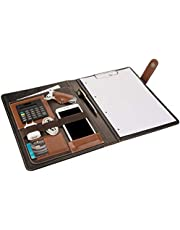 2K 7001 Sekreterlik A4 Suni Deri Telefon Kılıflı El Portföyü Sekreter Notluğu Hesap Makineli