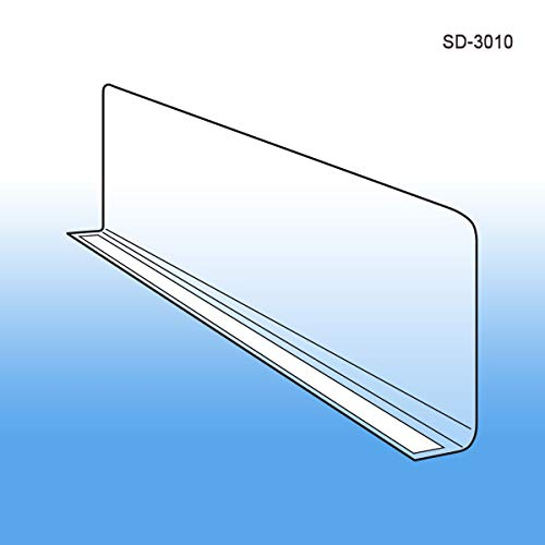 Clear Plastic Shelf Divider 3
