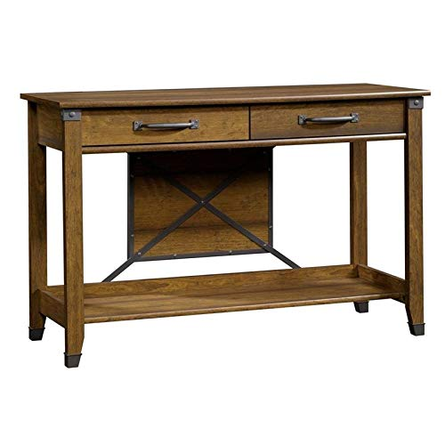 Sauder Carson Forge Sofa Table, L: 47.17'' x W: 17.01'' x H: 30.35'', Washington Cherry finish by Sauder