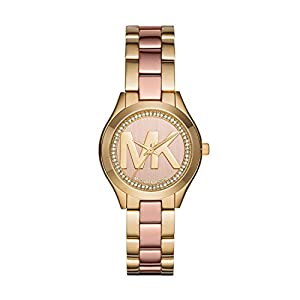 Michael Kors Women's MK3650 Mini Slim Runway Pink Watch