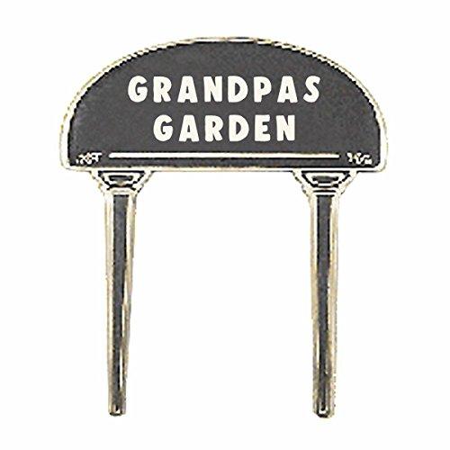 Renovator's Supply Solid Brass Plate Garden Sign GRANDPAS GARDEN Brass Plaques by Renovator's Supply
