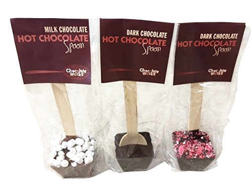 Assorted Hot Chocolate Spoons
