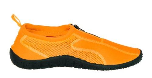 Rockin Schoeisel Dames Rubber Aqua Neon Water Schoenen Oranje