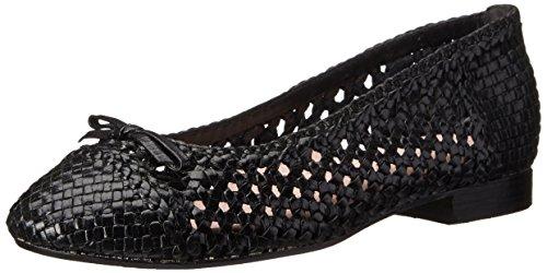 Taryn Rose Mujeres Bobo Ballet Flat Black