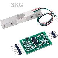 Load Cell HX711 - Amplificador de 3 kg con sensor de peso digital portátil para cocina