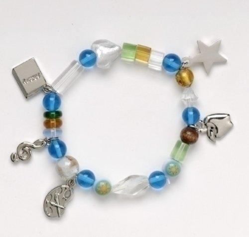 Roman Inc.Teachers Beaded Bracelet - Large - 7-7 1/2